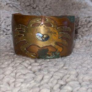 Vintage Cancer 🦀 Astrological Bracelet